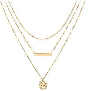 Bar Pendant Necklaces for Women